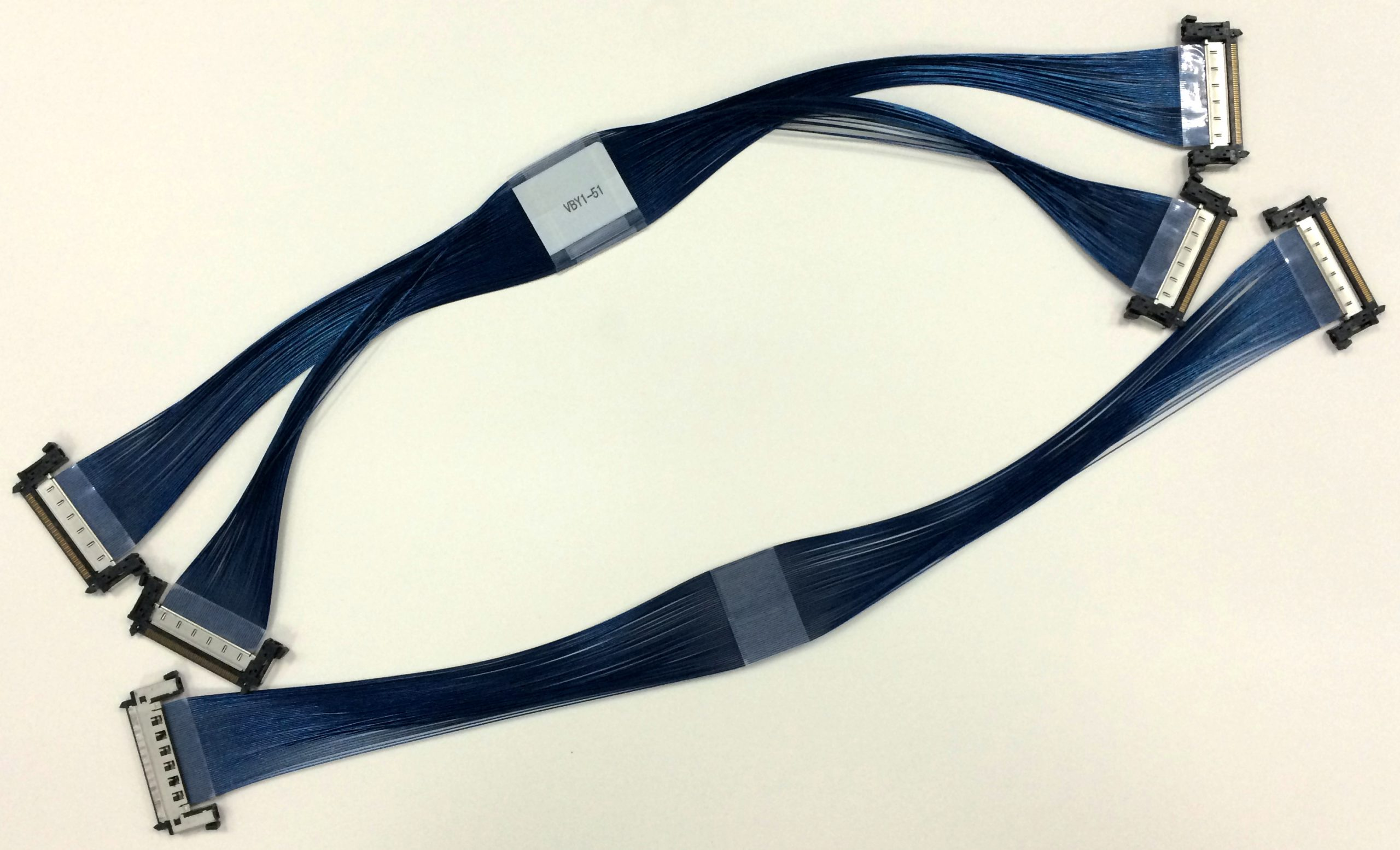 8Lane V-by-One HS LVDS FMC Card Product appearance - Cable for V-by-One HS 51pin